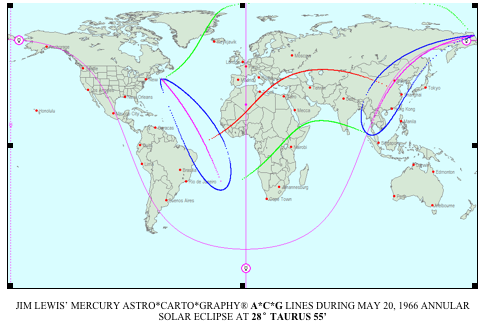 Astro*Carto*Graphy® Map for Jim Lewis May 20th 1966